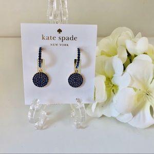 Kate Spade Shine On Pave Crystal Drop Earrings